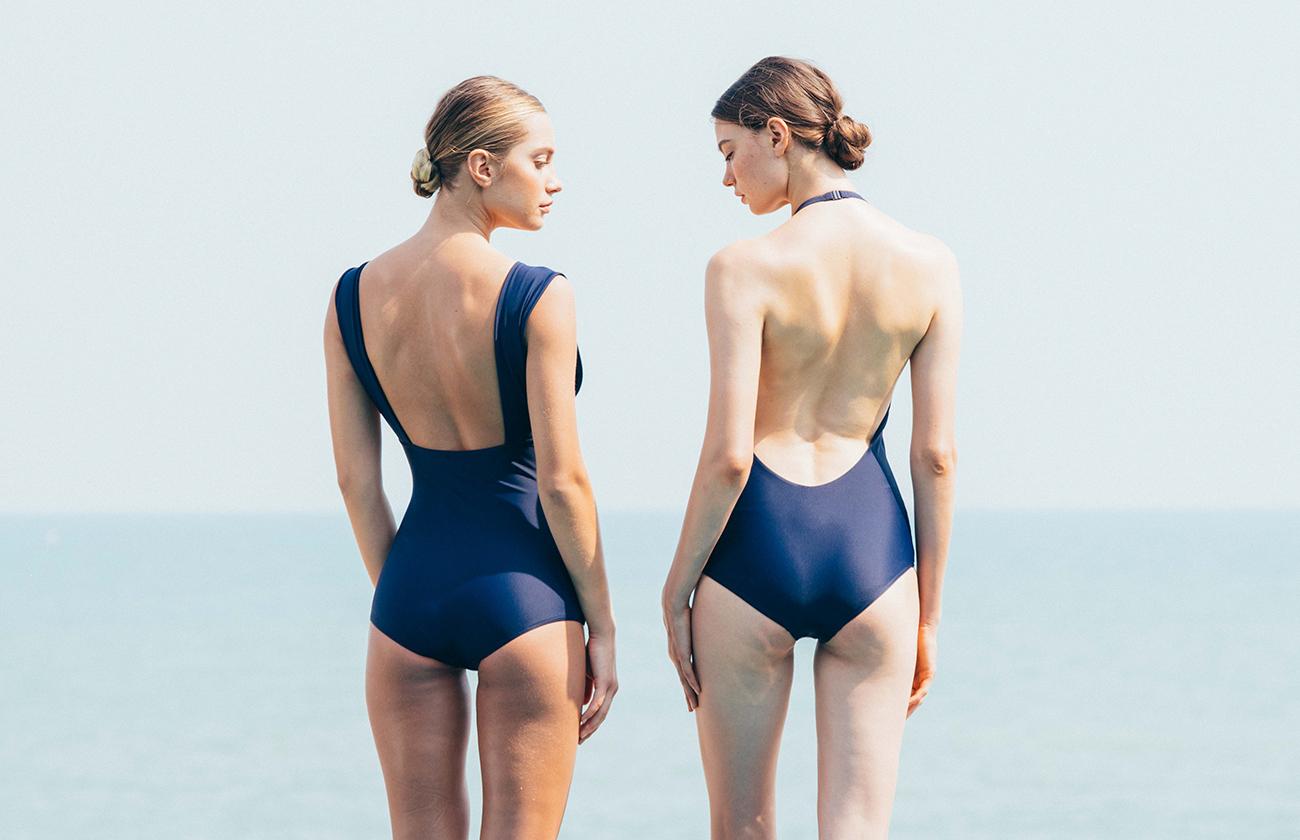 swimwear swimsuit summer blue