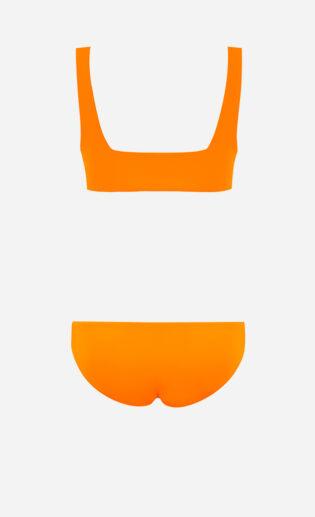 square bikini amber back