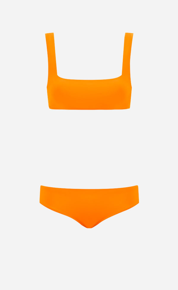 The Amber Square bikini from front.