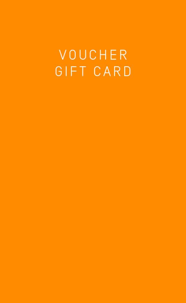 Kaio swim's voucher gift card in yellow.