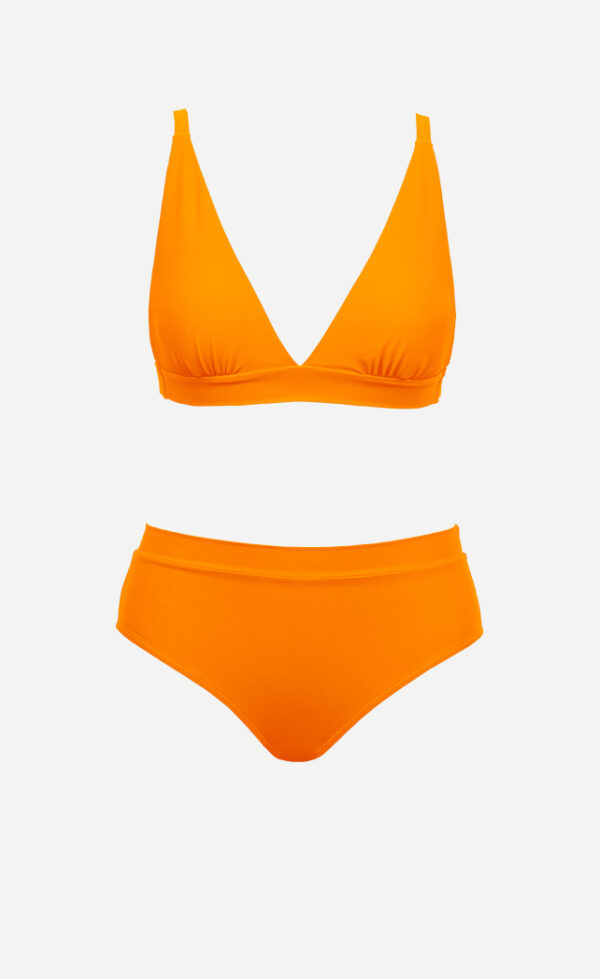 The triangle bikini from front